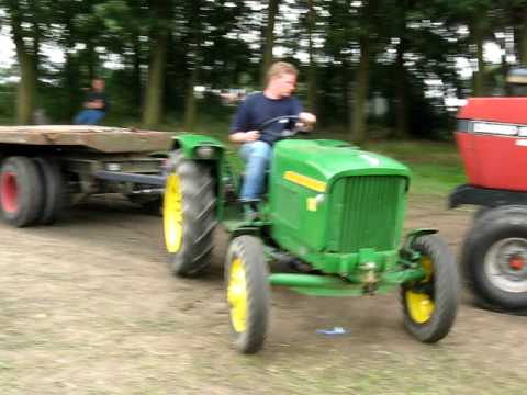 john deere lanz 100 ford 9600 panningen 2009 youtube. Black Bedroom Furniture Sets. Home Design Ideas