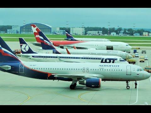 Moscow Sheremetyevo airport Plane Spotting 2016