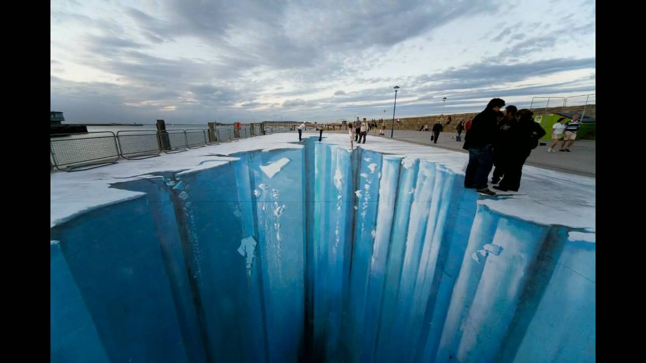 The Crevasse Making Of 3d Street Art Youtube