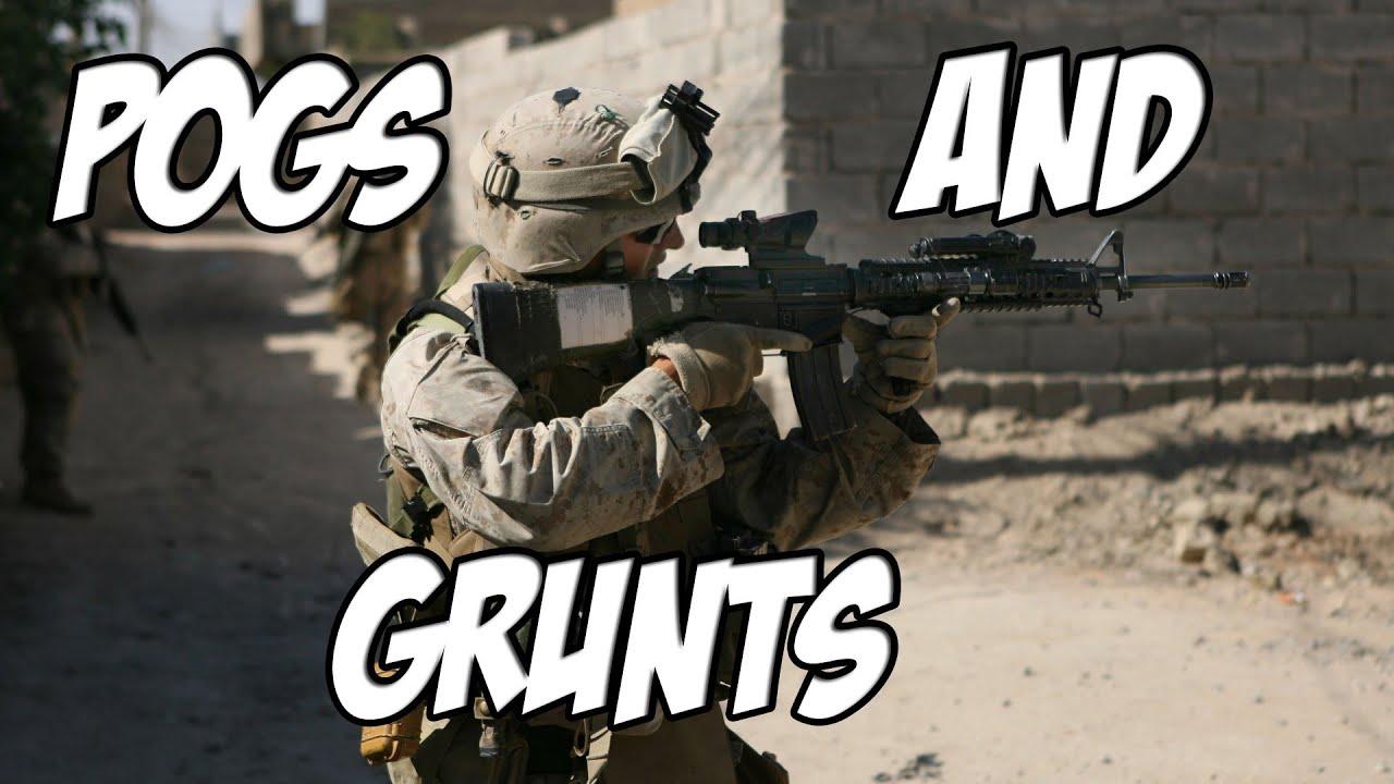 marine corps mondays - pogs and grunts