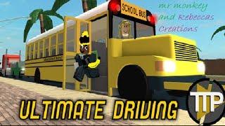 ROBLOX Ultimate Driving:Newark(EPISODE 15)w/mr monkey