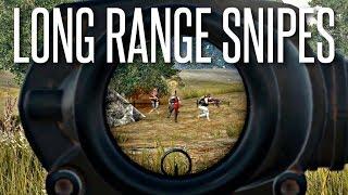 LONG-RANGE KAR-98 SNIPES - PlayerUnknown's Battlegrounds