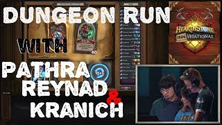 Hearthstone Dungeon Run With Kranich, Reynad and Pathra!