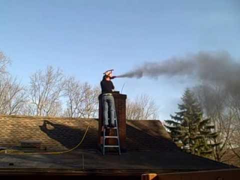 Leaf Blower Vacuum Pellet Stove Chimney Cleaning  YouTube