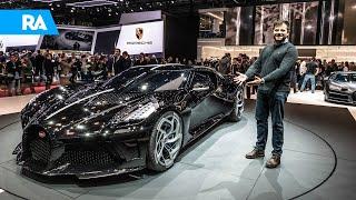 O MAIS CARO de SEMPRE e só há ESTE! Bugatti La Voiture Noire