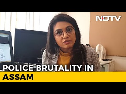 Caught On Cam: Police Brutality In Assam Goes Viral | NDTV Newsroom Live