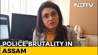 Caught On Cam: Police Brutality In Assam Goes Viral | NDTV Newsroom Live