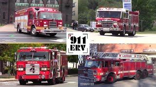 Fire Trucks Responding Compilation 5 | Pierce Manufacturing
