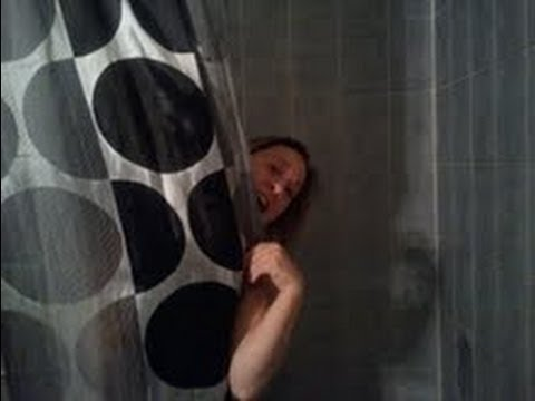 I caught my sister singing in the shower..