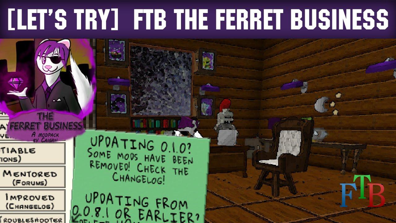 скачать сборку the ferret business