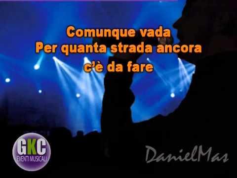Cesare Cremonini Buon viaggio share the love KARAOKE instrumental