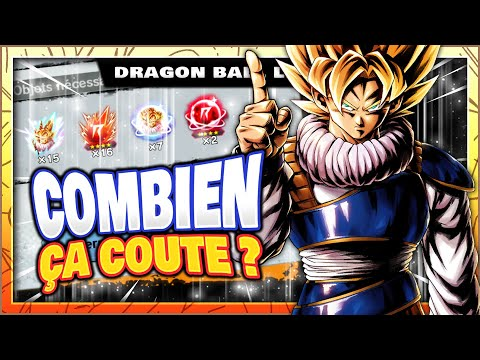 ? COMBIEN ÇA COÛTE DE MONTER UN PERSO À 598% ? GOKU YARDRAT SPARKING - DRAGON BALL LEGENDS FR