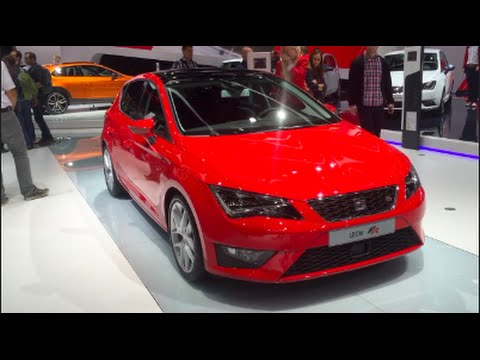 seat leon fr 2016 in detail review walkaround interior. Black Bedroom Furniture Sets. Home Design Ideas