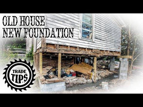Build A House Foundation Under