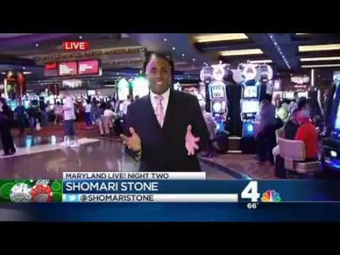 Man Wins $4,000 On Slots At Maryland Live! Casino - NBC's Shomari Stone Reports