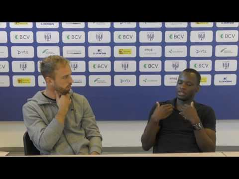 """JK TV - Nicolas gétaz """" les matchs contre le FC Bâle sont particuliers"""""""