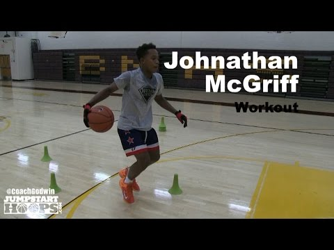 Johnathan McGriff Workout Part 2 (BEST HANDLES On The PLANET) - Coach Godwin Ep: 172