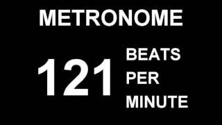 METRONOME 121 BPM (BEATS PER MINUTE)