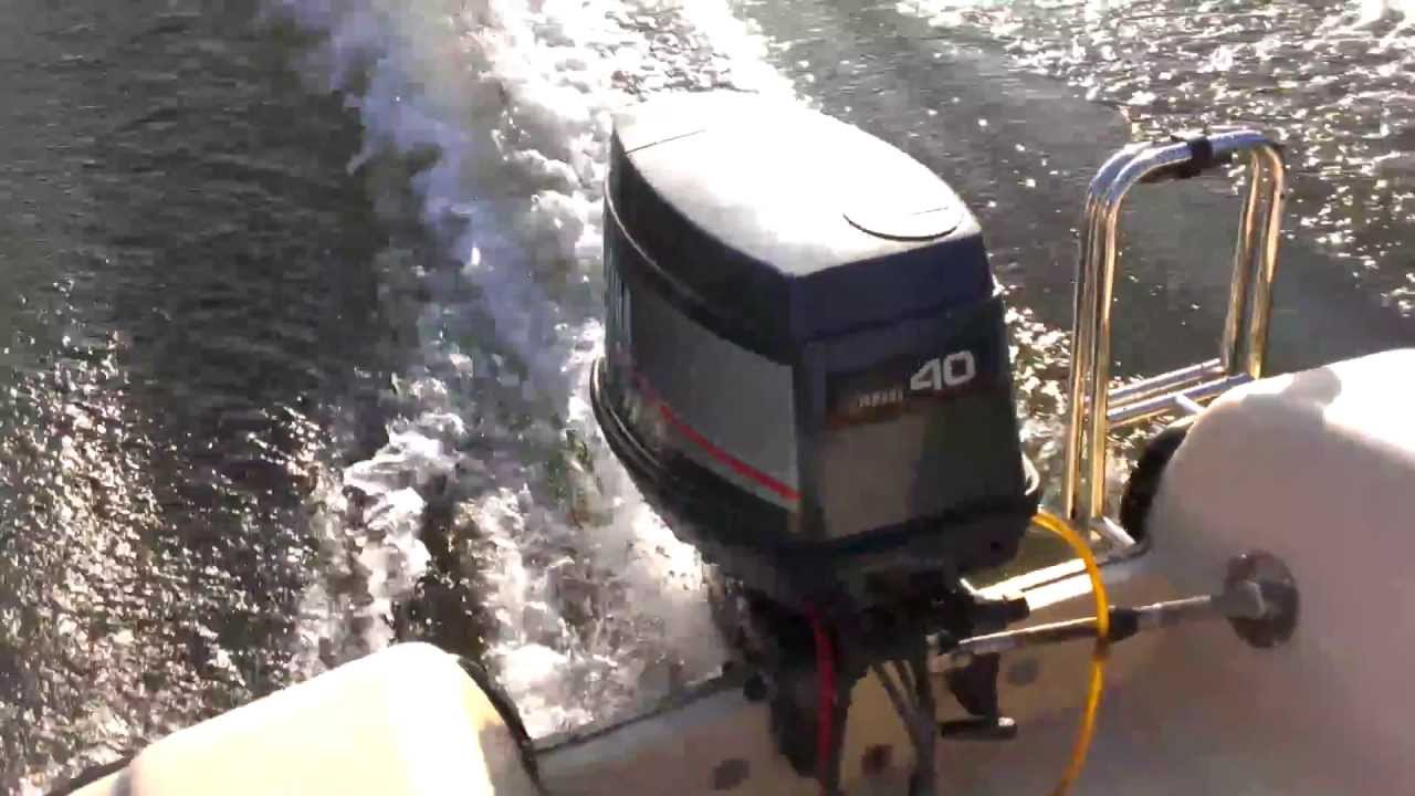 Mariner Outboard Motors >> Yamaha HEO 40ps hp Autolube outboard Außenborder - YouTube