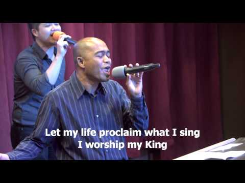 How To Worship A King, worship led by Efraim Tamba