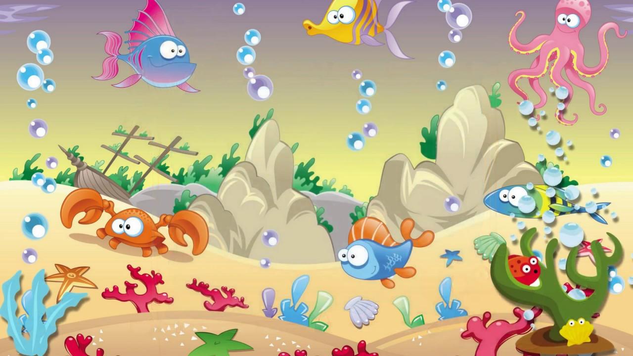 Convite Animado Fundo Do Mar Youtube