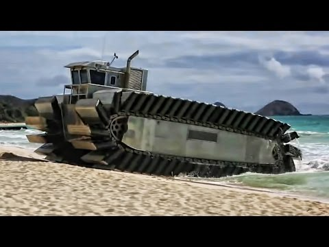 Behold The Sea Tank, Beach Assault Vehicle Of The Future