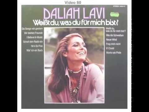 Daliah Lavi - Weißt du, was du für mich bist