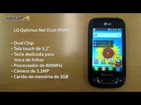 LG Optimus HUB, LG Optimus Net Dual e LG Optimus Pro - Preview
