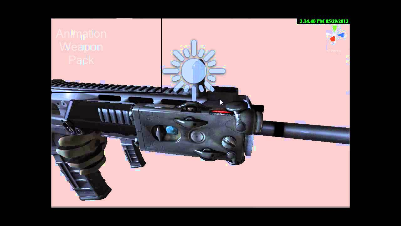 Weapon Animation Pack For Unity3d