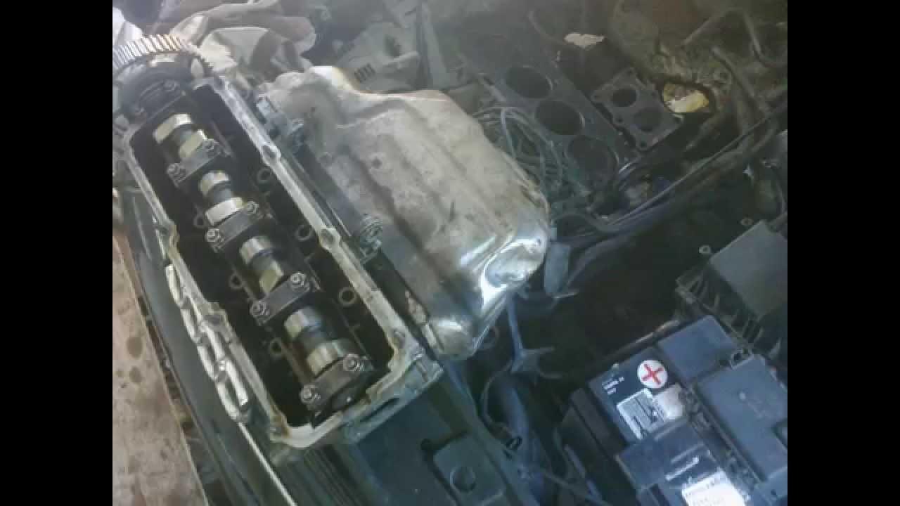 Uszkodzona Uszczelka Pod Glowicą Audi A3 16 97r Youtube