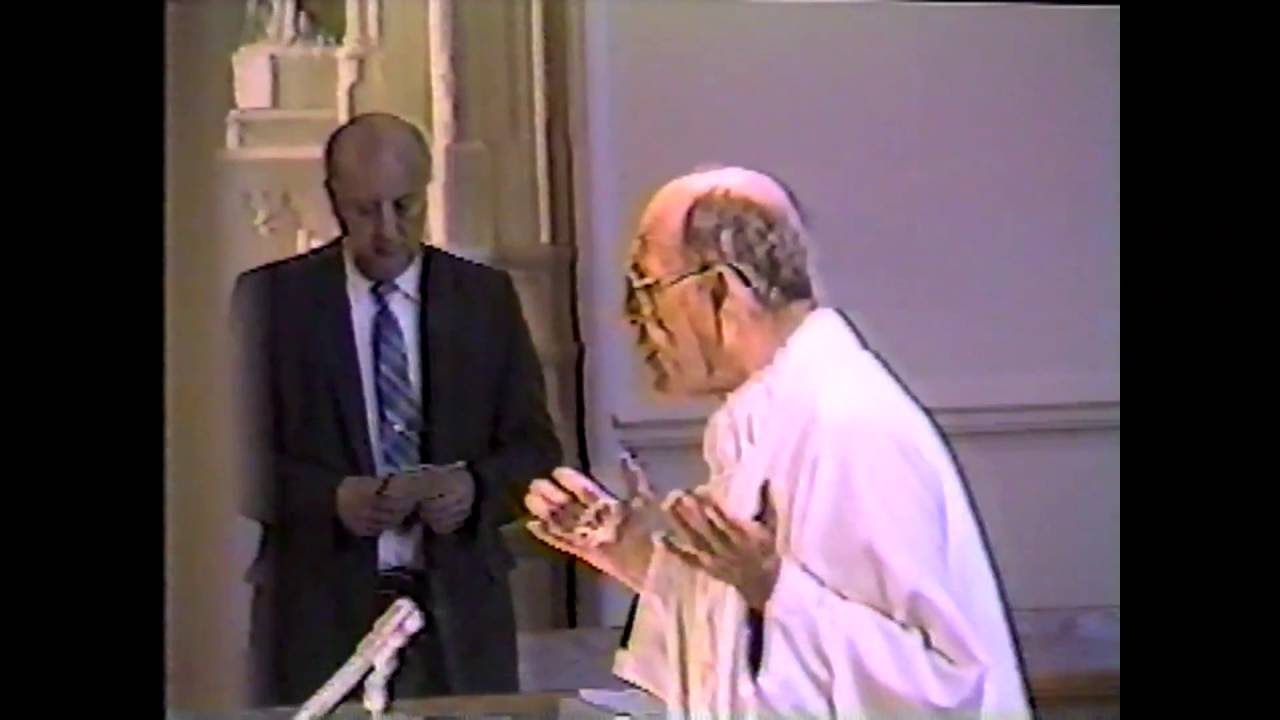 St. Mary's 125th Anniversary Mass  5-1-85