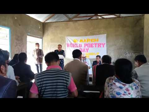 WORLD POETRY DAY 21 st MARCH 2017 AT WANGJING
