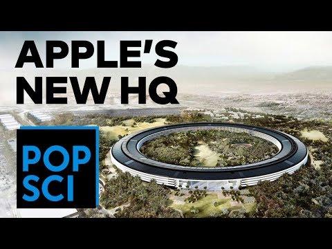 Building Apple Park, Apple's New Campus