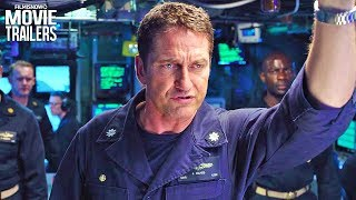HUNTER KILLER Trailer NEW (2018) - Gerard Butler Action Thriller