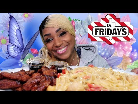 TGI Friday's Cajun Chicken and Shrimp Alfredo