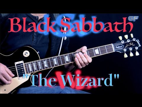 Black Sabbath - The Wizard - Metal Rhythm Guitar Lesson (w/Tabs)