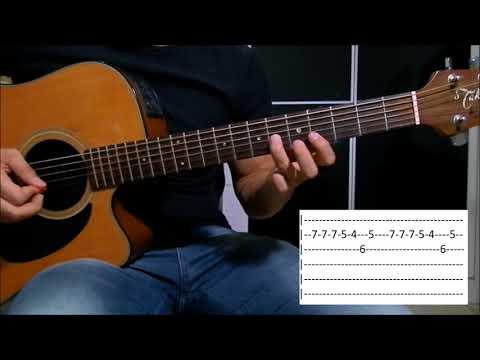 Contrato - Jorge e Mateus aula violão (como tocar)