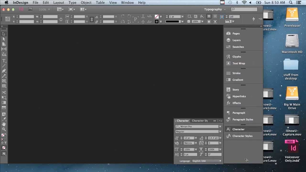Adobe InDesign CC Tutorial | A Whole New Workspace For