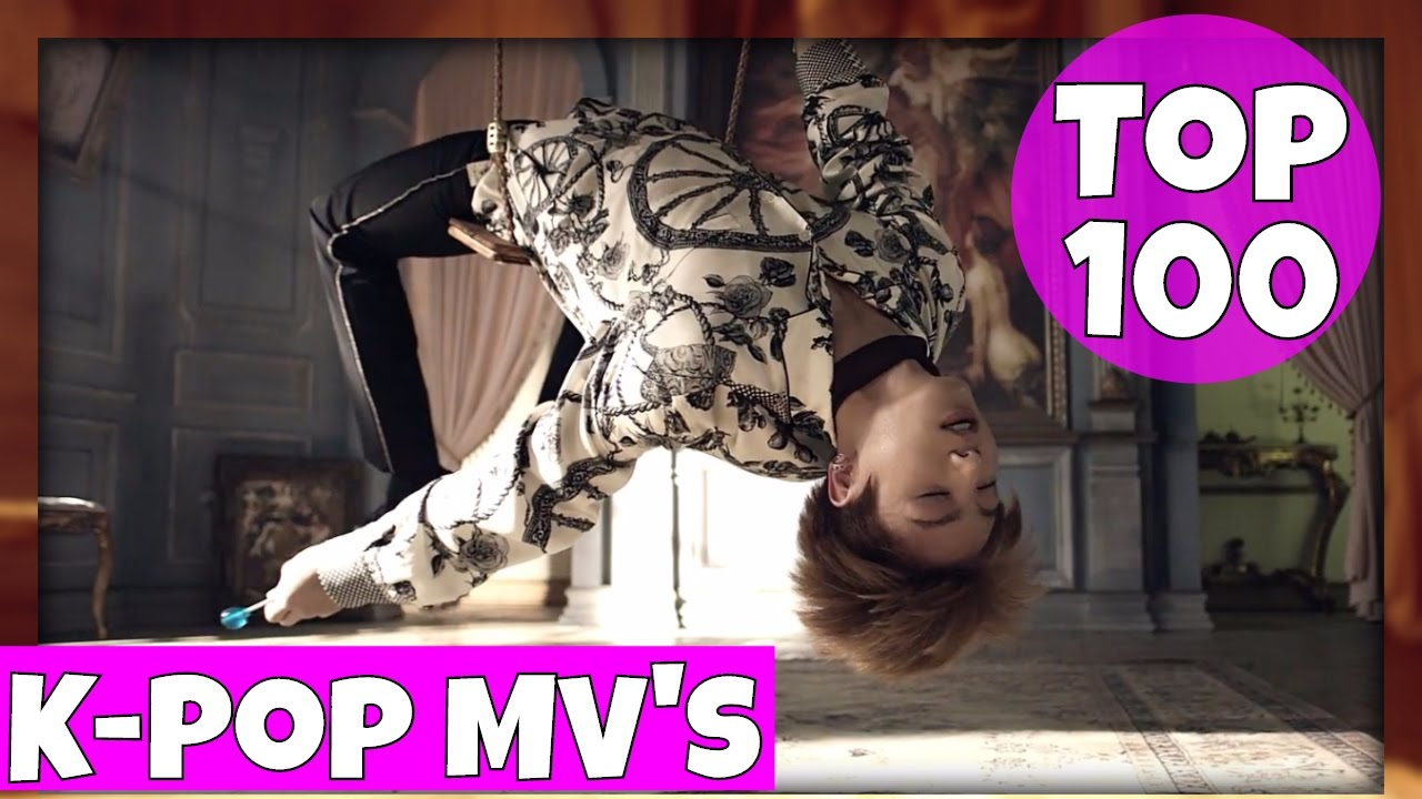Top 100 Most Viewed K Pop Music Videos January 2017 Youtube