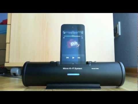 iPhone Musik Dockingstation Review  [#1]