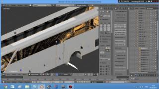 Tutor Edit Pintu Tengah Bus Di Blender
