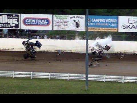 Skagit Speedway Highlights 06 10 2017