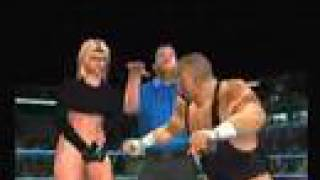 SvR2007 WWE Superstar vs G-String Girl(request)