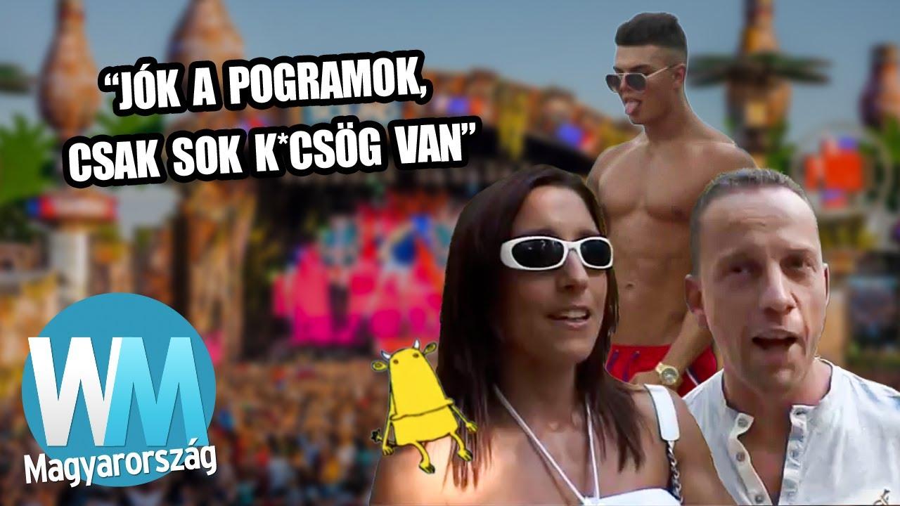 Top 10 legemlékezetesebb magyar fesztivál videó