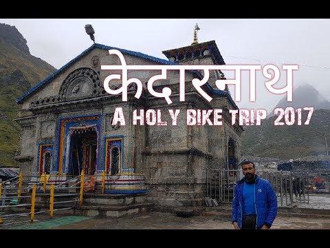 Kedarnath yatra a holy solo bike trip kedarnath temple 2017