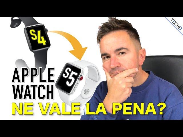 Apple Watch 4 VS Watch 5 - UPGRADE Ne Vale la Pena??