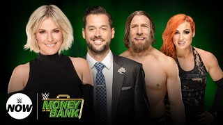 Live WWE Money in the Bank 2018 preview with Daniel Bryan and Becky Lynch: WWE Now