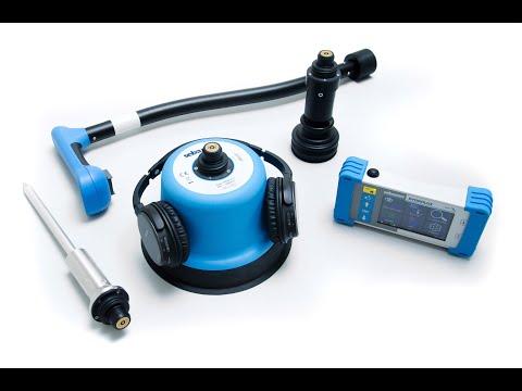 HL 7000 - Elektroakustische Leckortung Mit Bodenmikrofon, Taststab Sowie Spürgassuche