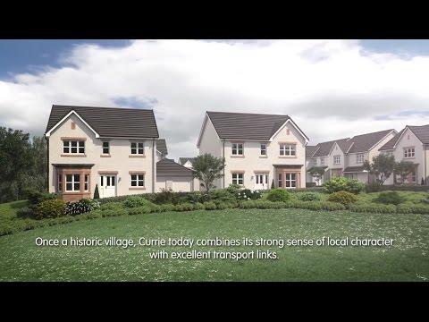 Miller Homes - The Lea, Currie, Edinburgh CGI Development Tour