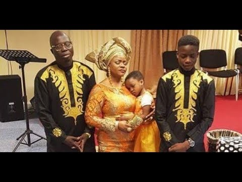 At Last! Meet Yoruba actor, Mr. Latin's wife And Super Cute Kids In London